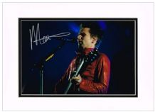 Matthew Bellamy Autograph Signed Photo - Muse